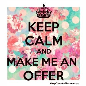 Most reasonable offers accepted!
